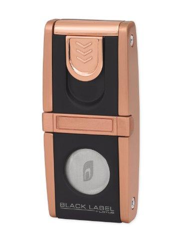 Black Label Belvedere Copper Satin Cigar Lighter