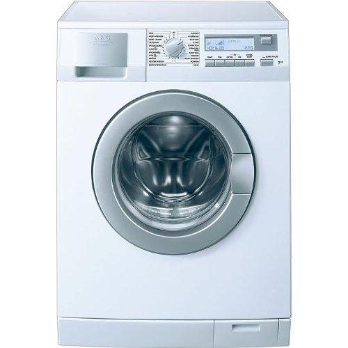 AEG Electrolux ÖKO_LAVAMAT 76850 Waschmaschine FL/AAA / 1.19kWh / 1600UpM / 7 Kg/LC-Display groß/Inverter/Aqua-Alarm/ 45 L