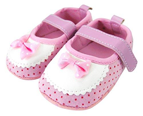 Axy Baby plastique Tapis Chaussures Chaussures bébé 0 à 12 mois – Little Princess – Rose BS4–2 - Rose - rose bonbon,