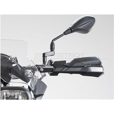 F650GS Black DE.SOUL Handlebars Hand Guard Riser Protector Metal for BMW F700GS F800GS F650GS 08-18