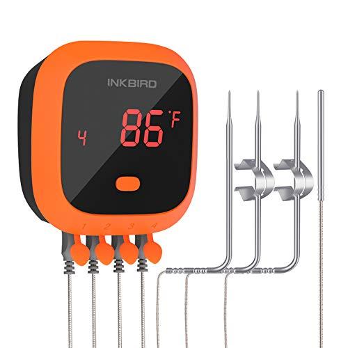 Inkbird Waterproof 150 FT Bluetooth Meat...