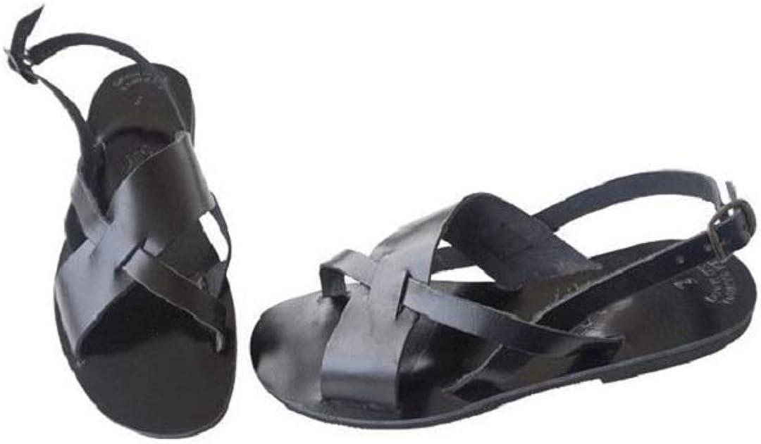 Ancient Greek Style Leather Sandals Roman Handmade Mens Womens Unisex Strappy Shoes Gladiator Spartan DIOGENES Flat Flip Flops Slingback Slide Fashion