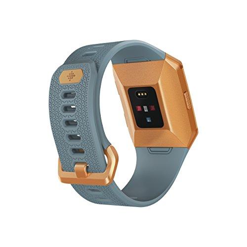 FitbitIonic Smartwatch(Slate Blue/Burnt Orange)