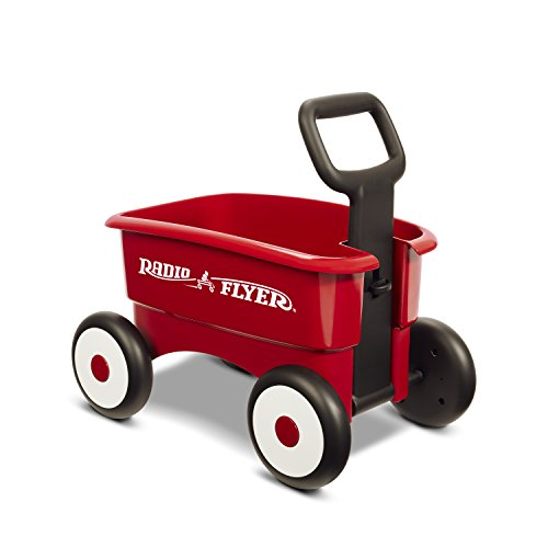 Product Image of the Radio Flyer My 1st 2-in-1 Wagon, Red