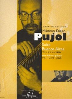 SUITE BUENOS AIRES - arrangiert für Querflöte - Gitarre [Noten / Sheetmusic] Komponist: PUJOL MAXIMO DIEGO