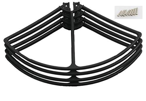 Propeller Guards for Protocol Galileo Drone Black Color Set of 4