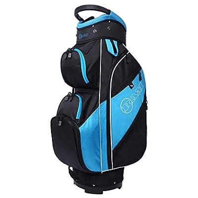 Ram Golf Lightweight Ladies Cart Bag with 14 Way Dividers Top Black/Teal/White