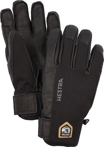 Hestra Leather sastruga 5doigts noir