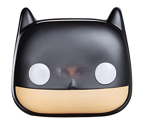 Jakks Mscara Batman, accesorio de disfraz estilo Funko Pop! Batman Noche Oscura, mscara cubre toda la cara, para todas las edades
