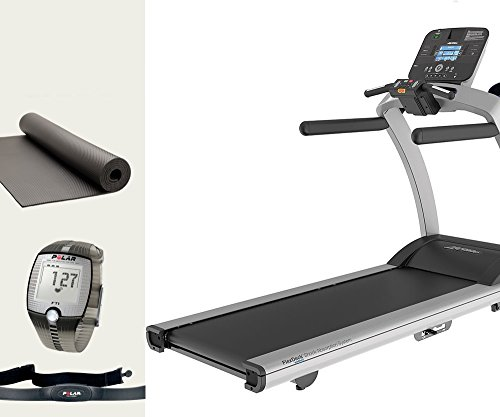 life fitness tapis roulant t5 console track +