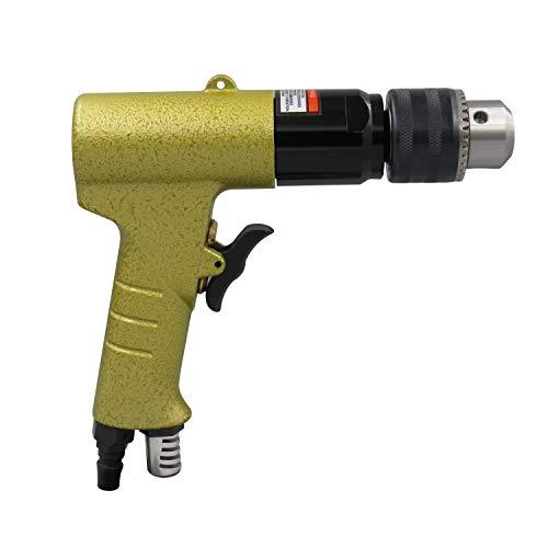 Z-LIANG Herramienta de reparación, pequeña clase de aparatos electrónicos de 1/2' (13 mm) Pistola neumática de perforación, positivo y negativo de perforación del aire, taladro neumático de calidad in