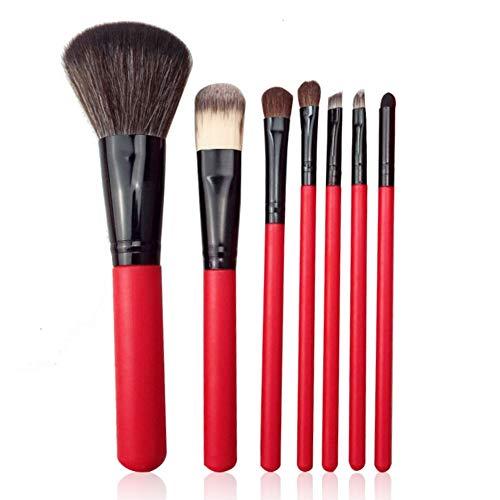 weixinbuy Makeup Brushes Set, 7PCS Make Up Brushes Set For Makeup Powder Brush Blush Brush Eyeshadow Brush Cosmetic Brush Set Makeup Tool With Travel Makeup Bag, Great Choice.