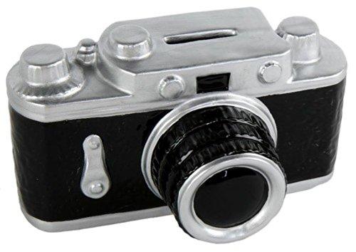 Salvadanaio a forma di fotocamera
