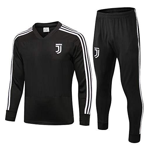 Juventus Club 1819 voetbaltrainingspak met lange mouwen trainingspak set met lange mouwen en een uniform uiterlijk