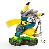 OOKVIVI Pikachu Cosplay Hatake Kakashi Action Figure GK Naruto Anime Statue Collection PVC Model Toys Gifts(Hatake Kakashi)