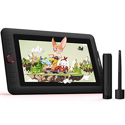 XP-PEN Artist 12 Pro - Tableta gráfica con pantalla táctil y lápiz, de 11,6 pulgadas, 1 dial rojo y función de inclinación de 60 grados