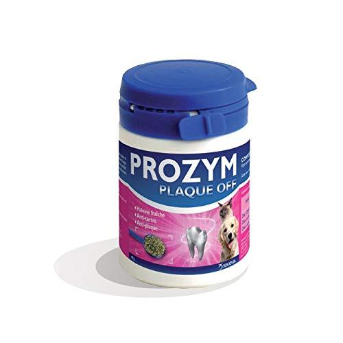 Sogeval Prozym Plaque Off Caja para Perro/Gato, pote de 40g