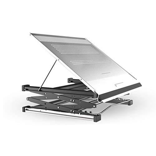 GXCNINIO GXC hoogwaardige computer-klaptafel, verstelbare 3-hoekige tafelbok voor hoge en lage snelheden, inklapbare upgrade-bureau-lerntafel van aluminium.