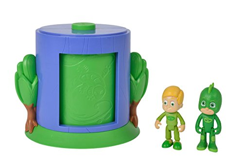 Simba  109402155 - PJ Masks Verwandlung Greg in Gecko / Spielset / mit Greg und Gecko Figur / stapelbar, für Kinder ab 3 Jahren