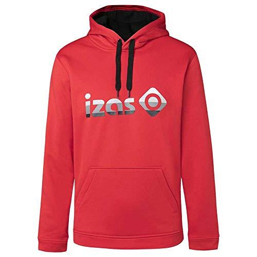 Izas Imjpu00757Rd/Bk3Xl - Hooded Pullover - Duero Color: Red/Black - M