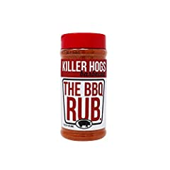 The BBQ Rub brings out the best in everything you cook. The BBQ Rub is balanced with a special blend of sugar, salt, heat and other spices. This rub allows you to turn out BBQ like a professional pitmaster. The Killer Hogs Championship BBQ Team spent...