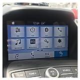 furong Pantalla de navegación GPS de 8 Pulgadas Pegatina de Cristal Templado de Vidrio de Acero Película Protectora de Acero para Ford Kuga 2014 2015 2016 2017 2017 Accesorios