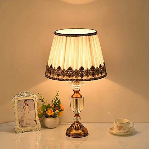 Lámparas Escritorio Romántico estilo minimalista de cristal de la lámpara de escritorio del LED, conveniente for la familia hotel