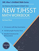 New TJHSST Math Workbook Volume 1: Advanced Workbook for the Quant-Q Math Test