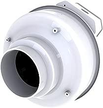 Fantech FR 110 Inline Centrifugal Duct Fan, Molded Housing, 4