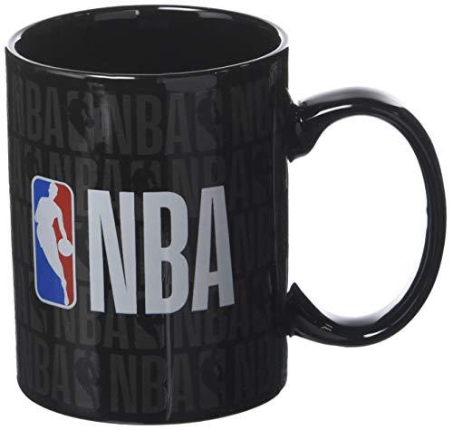 La Pluma Dorada Logo Taza (recinto Individual NBA Mixta niño, Negro