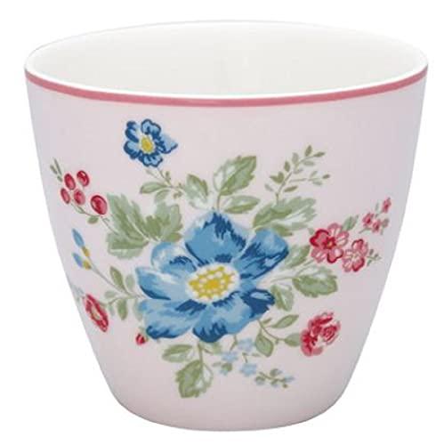 GreenGate - Tasse, Latte Cup - Roberta - Pale Pink - Porzellan - 300 ml
