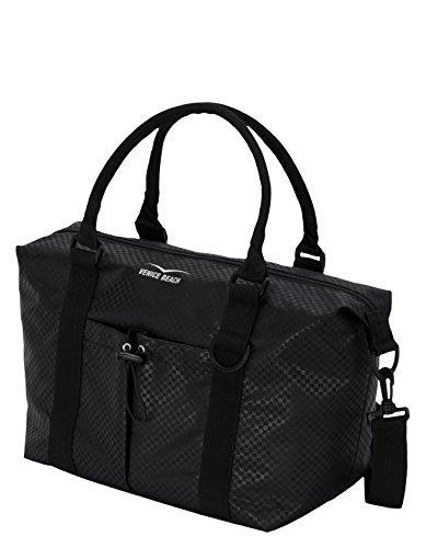 Venice Beach Damen Emma Gym-Tote-Bag Tasche, Black, 33 x 20 x 31 cm, 0.2 Liter