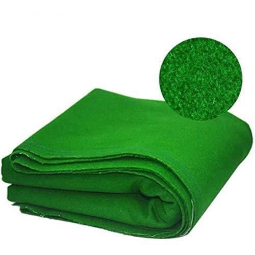 AMZH Verde Mantel de Billar Fieltro Fibra + Nylon/Lana Material Paño de Billar Tela para Mesa de Billar/Lana Tapetes Adecuado para mesas de Billar, Clubes