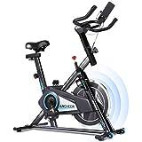 Profun Bicicleta Estática de Spinning Profesional, Ajustable Resistencia, Pantalla LCD, Bicicleta...