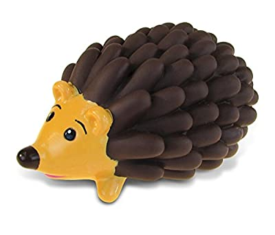 Puzzled Hedgehog Rubber Bath Toy Squirter Brown/Dark Brown Bath Buddy Fun Floater Animals Collection 3 INCH - Affordable Gift for Babies Safe for All NO Age Restrictions Bathtub/Pool Toy - Item #2784