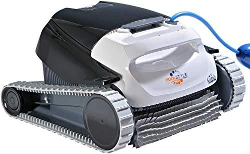 Maytronics Robot limpiafondos automático Dolphin Pooltyle Plus Limpiafondos portátil, Ligero y fácil de Limpiar. Ideal para Piscinas elevadas.