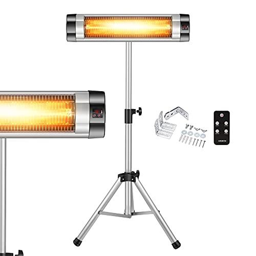 Riscaldatore ad Infrarossi 2500W | Stufa Elettrica da Esterno | Regolabile in...