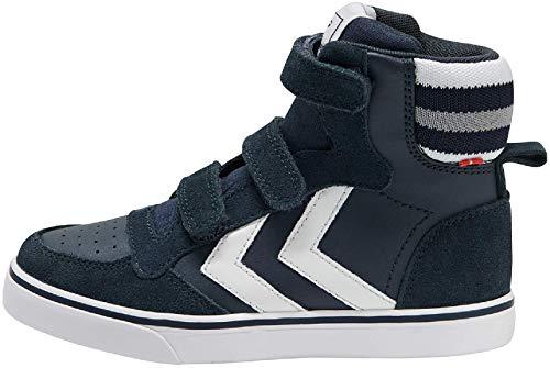 hummel Stadil Pro JR Kinder Schuhe Sneaker Blue Nights 205753-7429, EU 34