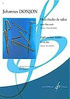ドンジョン: 8つのサロン風練習曲/ビヨドウ社/フルート教本・練習曲