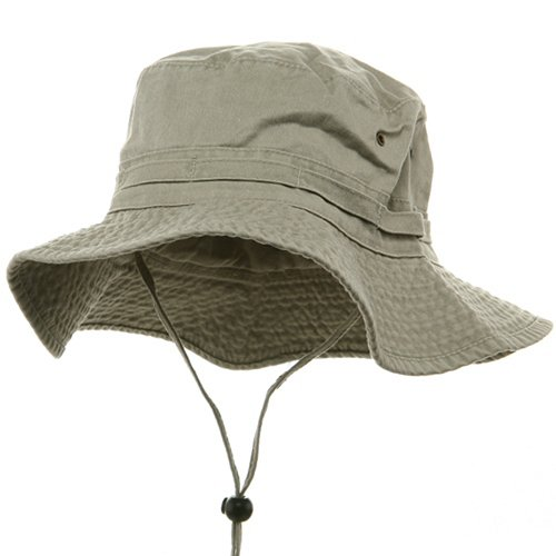 e4Hats.com Extra Big Size Fishing Hat-Beige XL-2XL