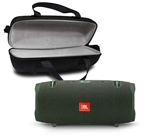 JBL Xtreme 2 Portable Bluetooth Waterproof Speaker Bundle with Hardshell Storage Case - Green