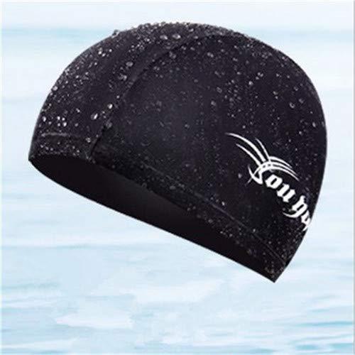 Piore nieuwe volwassen badmuts elastische waterdichte nylon spandex stof zwemmen zwembad hoed voor unisex mannen vrouwen kinderen badmuts, zoals de afbeelding laat zien, one size