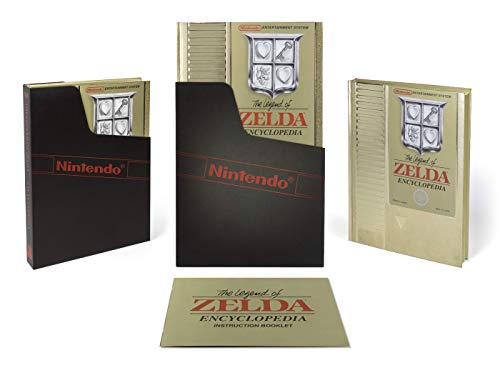 Honoring the game that started it all by recreating the original gold cartridge as faithfully as possible. The book comes with a black Nintendo sleeve, lined with velvet flocking, and an instruction booklet with fun, theme-appropriate material inside...