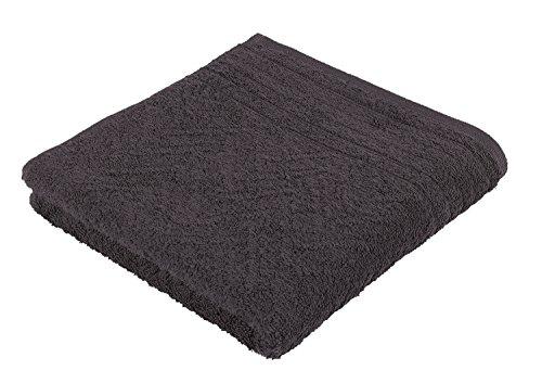 frottana Elegance – Handtuch 50 x 100 cm aus 100% Baumwolle, graphite