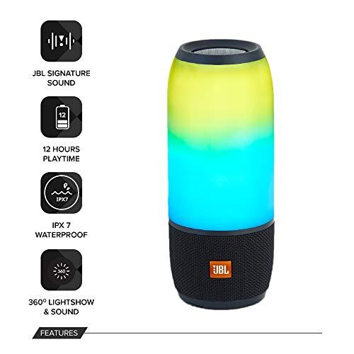 Haut-parleur Bluetooth portable JBL PULSE 3 Noir - 1