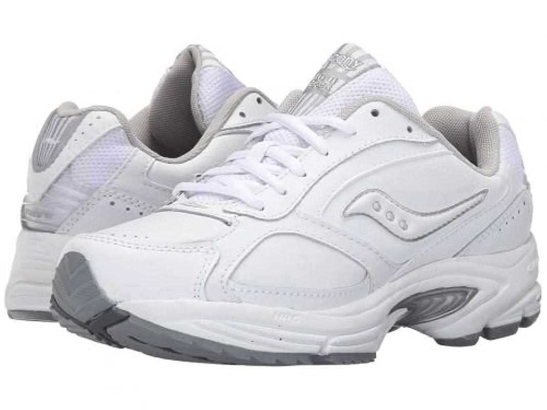 引退するなぜなら店員Saucony(サッカニー) レディース 女性用 シューズ 靴 スニーカー 運動靴 Grid(R) Omni Walker - White/Silver 5 B - Medium [並行輸入品]