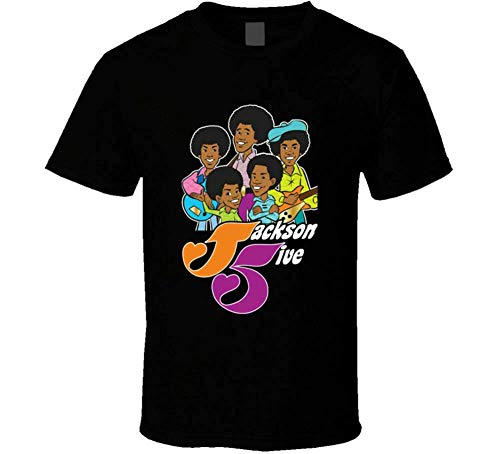 Jackson 5 5Ive Five T Shirt Mens Black Tee Size S 3XL Fan Gift New from Us