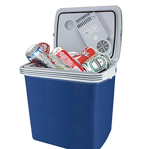 Auto Kühlschrank, Heiz- und Kühlbox Auto Dual-Use-Auto Tragbares Mini-Auto mit gefrorenem Fassungsvermögen 25 Liter