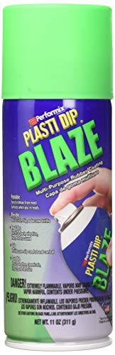 Peinture aérosol Plasti Dip Blaze Fluo Vert 400 ml