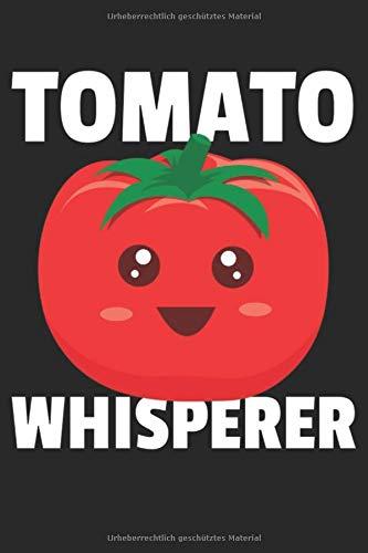 Tomate Notizbuch: Tomaten Notizbuch für Gemüse oder Ketchup Liebhaber / Notizheft / Notizblock A5 (6x9in) Dotted Notebook / Punkteraster / 120 gepunktete Seiten